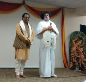 Dhyanacharya Ajay Jain With Acharya Lokesh Muni in New York,  USA